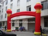 Chinese Style Inflatable Lantern Arch for Celebration Customized