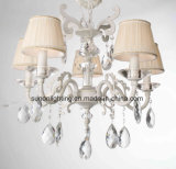 Zhongshan Crystal Fabric Shadechandelier Light/Pendant Lamp with UL Approval