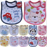 Super Soft 100% Cotton Printed Baby Bibs
