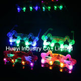 Custom Print LED Star Shaped Sunglasses