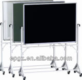Movable White & Black Board for Classroom & Meeting Room, Classroom Movable White& Black Board