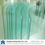 Bent/Curved Toughened Glass for Home Application with Ce