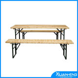 Wooden Beer Table Set for Europe Beer Pong Table