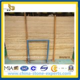 Wooden Yellow Marble/ Yellow Grainy Marble Slab