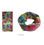 6 Colors Flower Design Bandana (YT-9121)