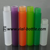 Colorful Frosted Plastic Bottle for Skin Care Screw Neck (HVPB025)