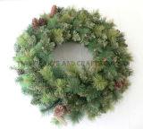 Pine Needle Mixed Wreath (PBW60-162)