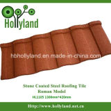 Long Usage Time Stone Coated Metal Roofing Tile ---- Roman Tile