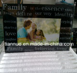 Silk Printing Glass Photo Frame with Strong Packing