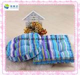 Custom Soft Blue Plush Cushion for Sale