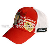 Trucker Cap With Patch Embroidery And Printing