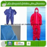 Disposable Nonwoven Coverall with Elastic Cuff and Ankle