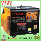 5kw Silent Portable Single-Phasediesel Electric Generator