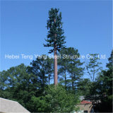 Steel Structure Radio Telecommunication Camouflaged Palm Tree Tower