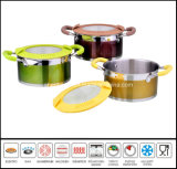 Stainless Steel Color Casserole