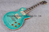Sky Blue with Silver Hardware Lp Style Electric Guitar (GLP-82)