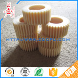 Custom Made White Color Plastic Helical Gear