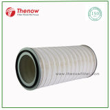 Cylindrical Cartridge Filter for Inlet Air and Gas Turbine