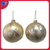 Glass Ball Hanging Ornament for Christmas Decorations