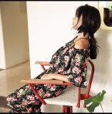 Wholesale Women′s Sexy Dresses Floral Printing Summer Ladies Designers Cotton Dresses