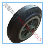 6X2 High Quality Wheelbarrow Solid Rubber Wheel