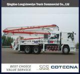 HOWO 6X4 32m to 52m Mixer Truck Concrete Pump Truck
