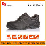 Cheap Price Black Embossed Double Safety Shoes