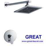 Built-in Shower Faucet with Top Shower