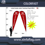 High Quality Polyester Feather Flag