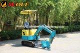 Rubber Track Mini Excavator Digger 0.8ton 8.6kw