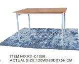 Simple Wooden and Metal Dining Desk (RX-C1006)
