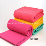 Fleece Blankets Dyeing and Printing with Customized Specifications
