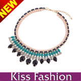 2014 Newest Choker Chunky Statement Fashion Necklace (EN0166)