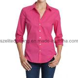 Pink Long Sleeve Business Shirt (ELTWDJ-91)