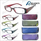 2016 New Style Colorful Plastic Reading Eyewear with Pouch (RP463036)