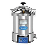 CE Approved Digital Display Portable Pressure Steam Sterilizer