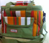 Muti-Pocket Army-Green Oxford Lunch Box Cooler Bag