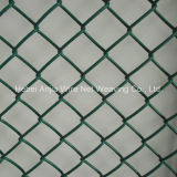 PVC Coated Galvanized Chain Link Fence/ Chain Link Wire Mesh