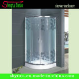 Quadrant Painted Tempered Fiberglass Enslosured Shower Door (TL-527)