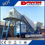 Mobile Concrete Mixing Plant 25cbm/H (YHZS25)