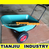 Plastic Tray Wheel Barrow Wb3500 with Two Wheels