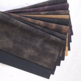 Yanbuck PU Leather with Printing