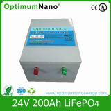 Rechargeable 24V 200ah LiFePO4 Battery for Solar System