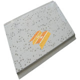 Acoustical Mineral Wool Ceiling Board with Tegular Edge, Various Surface