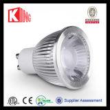 Short Size 5W/6W CREE/Sharp LED GU10 COB LED Bulb Dimmable