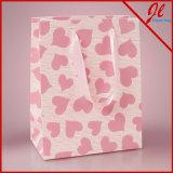 Pink Sweetheart Embossed Euro Tote Gift Bags