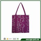 Popular Good Quality Purple Canvas Handbag