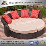 Well Furnir Wf-17101 Rattan Daybed with Cushion