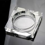 Cheap Crystal Ashtray, Square Glass Ashtray for Decoration (KS13028)