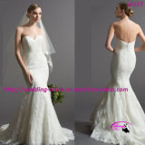 Embodiment Elegant Classic Slim Wedding Bridal Dress